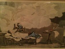 Colored Etchings - George Cruikshank - Napoleon -3 different