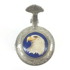 "Anheuser-Busch American Bald Eagle Series 1998 Lidded Stein ""Winter"""