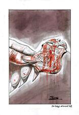 DAVIDE FURNO' - Tavola originale Cover 30 Days of night # 8
