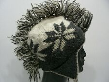 70d1b902648 MOHAWK STYLE - 100% WOOL - YOUTH SIZE STOCKING CAP BEANIE HAT