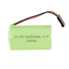 4.8V 2500mAh AA Ni-MH RX Receiver Transmitter Square Battery for RC Toys BC753