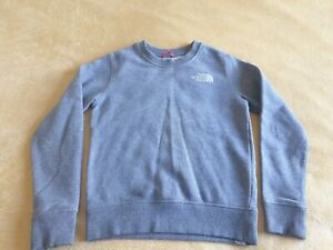 GREAT CONDITION BOYS THE NORTH FACE SWEATSHIRT SIZE S (ABOUT AGE 6-7)