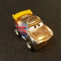 DISNEY PIXAR CARS DIE CAST MINI RACERS GOLD RUST-EZE CRUZ RAMIREZ FREE SHIP $15+