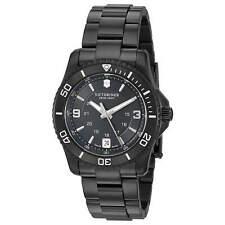 Victorinox Swiss Army Men's Watch Maverick Small Black Steel Bracelet 241799