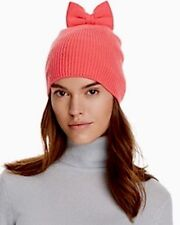 NWT Kate Spade New York Knit Bow Hat Pink