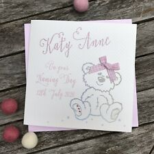 Personalised Naming Day Card By White Cotton Cards
