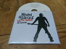 KEVIN RUDOLF - FEAT LIL WAYNE - LET IT ROCK !! !!!!!FRENCH CD PROMO!!!!