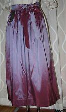 NEU* 90cm lange Taft Dirndl Schürze glänzend  lila H.MOSER  Mode aus Salzburg