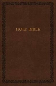 NKJV, Holy Bible, Soft Touch Edition, Imitation Leather, Bro... by Thomas Nelson