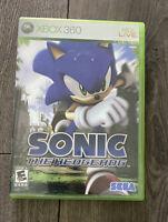 Sonic the Hedgehog (Microsoft Xbox 360, 2006) Complete