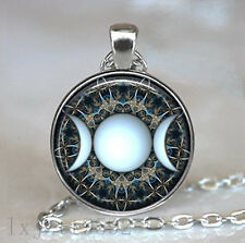Triple Goddess pendant, witchcraft jewelry, Moon Goddess jewelry, Moon necklace