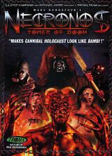Necronos: Tower of Doom (DVD, 2014) OOP! RARE! TROMA RELEASE