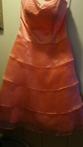 POLY USA Formal Prom Dress Ball Gown Sz M Style 5430
