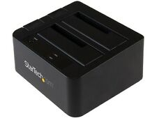 "StarTech.com USB 3.1 Gen 2 (10Gbps) Dual-Bay Dock for 2.5""/3.5"" SATA SSD/HDDs (S"