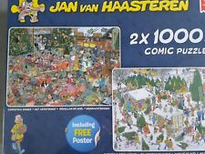 Jan van haasteren 1000 piece jigsaws
