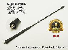 Peugeot 1007 308 3008 5008 Antenne Antennenstab Dach Radio 28cm Original Neu