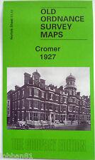 OLD ORDNANCE SURVEY MAP NORFOLK  CROMER  1927 Sheet 11.11 Brand New Map
