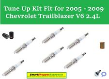 Air FilterOil Filter Spark Plugs Fit for Tune Up 2005-2009 Chevrolet Trailblazer