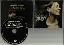 MADELEINE PEYROUX A Little Bit RARE 2006 USA PROMO DJ CD Single MINT