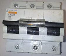 MERLIN GERIN C120H D50 50 A MAGNETOTERMICO CIRCUIT BREAKER 3 POLE  18510 ***