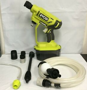 RYOBI RY120350 ONE+ 18-Volt 320 PSI Cold Water Cordless Power Cleaner GR M