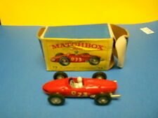 Matchbox Lesney #73 73-B1 Ferrari racing car NIOB