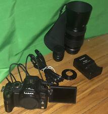 Panasonic LUMIX DMC-GH1 12.1MP Digital Camera - 2 Lenses