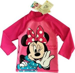 Minnie Mouse UV 60 Badeshirt Schwimmshirt Mädchen Gr. 80-98 Sonnenschutzkleidung