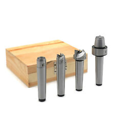 Mt2 Wood Lathe Live Center Drive Spur Cup Kit Arbor Case Wooden Turning Tools