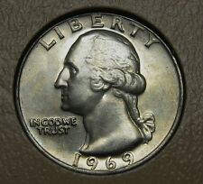 1969 Washington Clad Quarter Grading Choice Uncirculated     DUTCH AUCTION