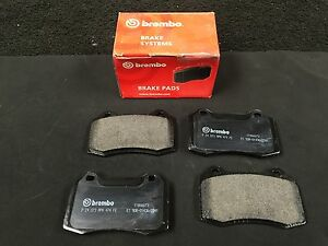 FOR FORD FOCUS RS MK 1 BRAKE PADS FRONT BREMBO BRAKE PADS OE P24073