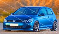 VW GOLF MK7 VII FRONT BUMPER LIP / VALANCE / SPOILER ( 2012-2016 )