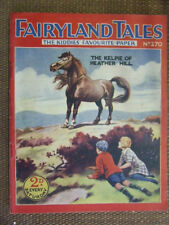 """Fairyland Tales No 270"". 1927.  Scarce John Leng / D.C. Thomson publication."