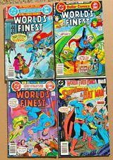 DC COMICS WORLD FINEST LOT 251 257 266 dollar comics + 320 75 CENT news stand