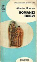 (Alberto Moravia) Romanzi brevi 1964 I delfini Bompiani n.152