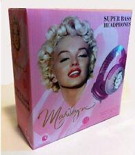 Price Point Accessories LLCRBH5147 Marilyn Monroe Super Bass DJ Headphones