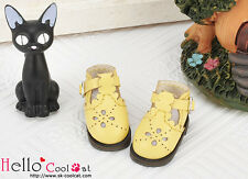 ☆╮Cool Cat╭☆【22-5】Blythe/Pullip Hollow Out Mini Shoes # Yellow