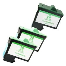 3* PACK LXM16 26 Ink Cartridges for Lexmark i3 X1110 1130 1150 1185 1190 1240