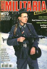 """Revue Magazine Militaire """" Armes Militaria No 173 Décembre 1999 """""""