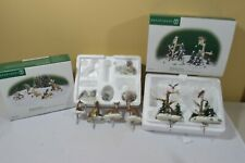 Dept 56 WOODLAND WILDLIFE  ANIMALS small & WOODLAND BIRDS & DEER (319P)