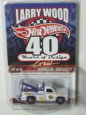 """Hot Wheels, Ramblin' Wrecker, Spectraflame, """"Larry Wood"""" 1:64 scale, Diecast"""