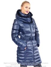 * Goose Down Coat Jacket Parka w/ Mink Fur sz L / US 10 EU 42 $695 Пуховик Норка