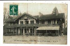 CPA - Carte Postale-FRANCE-Paris -Bois de Vincennes Restaurant La Porte Jaune
