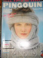 Pingouin N°46 Automne 50 modèles hommes et femmes Tricot Laine Couture Classique