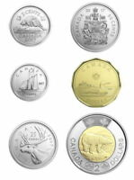 Canada 2017 Classic Canadian Uncirculated Set of Coins - No Tax