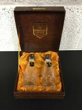 Edinburgh Crystal Salt & Pepper Shakers Cruet Set - In Box
