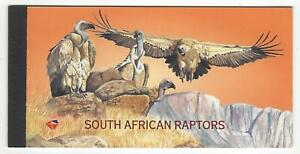 South African Raptors - 1998 - Stamp Booklet - MNH