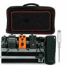 More details for guitar effects pedal board 500*250mm pedalboard with storage bag new