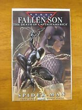 Fallen Son: Death Of Capt Amer #4 *3X Signed Finch, Steigerwald & Turner!* Coa
