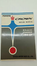 Toyota Crown Repair Manual RS Series Chassis Group